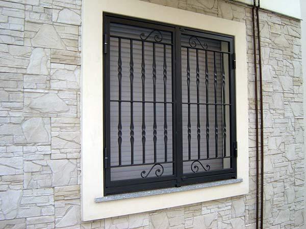 Grate di sicurezza fisse monza brianza sbarre per - Grate di sicurezza per finestre ...
